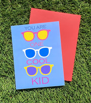 "NEW!  ** ""You Are One Cool Kid....Happy Birthday""  (GC45AP5005)"