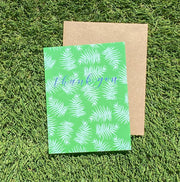"NEW!  ** ""Thank You (palm leaves)""  (GC45AP5008)"