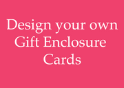 "2.5"" x 3.5"" Gift Enclosure Cards (WITH envelopes)"