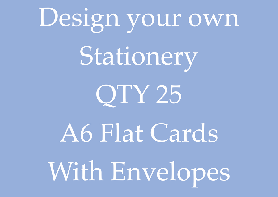 Design Your Own Stationery!