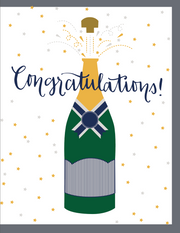 """Congratulations"" - Greeting Card with COLORED ENVELOPE  (GC45AP062C)"