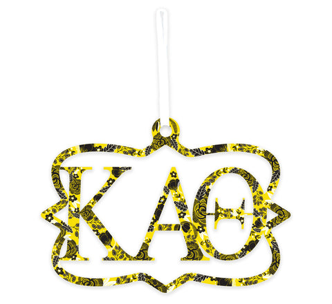 Kappa Alpha Theta Wood Wall Sign