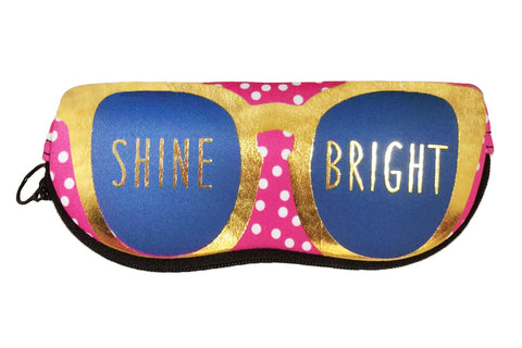 """Shine Bright"" Zipper Pouch"