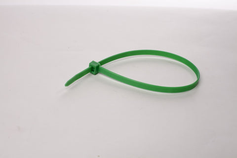 "8"" 120LB Cable Ties - 8 inch, 120 pound 100 Bag - Green"