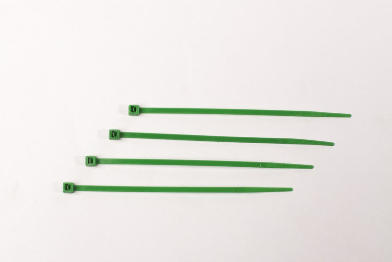 BCT 4 Inch 18 lb Cable Ties - Light Duty Industrial/Home Use - Bag of 100 - Multiple Color Options