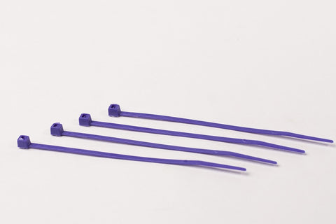"4"" 18LB Cable Ties 1000 Bag - 4 Inch, 18 Pound      Purple"