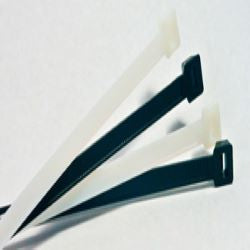 BCT 28 Inch 120 lb Cable Ties - Light/Heavy Duty Industrial/Home Use - Bag of 50 - Natural - Y281209L