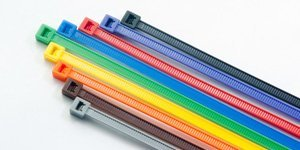 BCT 8 Inch 18 lb Cable Ties - Light Duty Industrial/Home Use - Bag of 100 -Multiple Colors