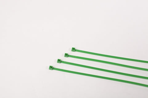 "8"" 40LB Cable Ties  1000 Bag - 8 Inch, 40 Pound  -  Green"