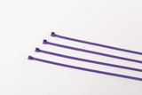 BCT 8 Inch 40 lb Cable Ties - Intermediate Duty Industrial/Home Use - Bag of 100 - Purple - Zip Ties - Y8407C