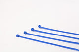 BCT 14 Inch 50 lb Cable Ties - Medium Duty Industrial/Home Use - Bag of 100 - Blue - Zip Ties - Y14506C