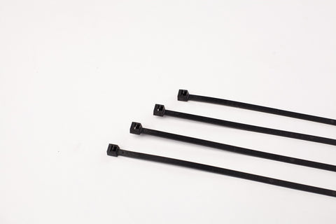 "11"" 50LB Cable Ties  1000 Bag - 11 Inch, 50 Pound  -  UV Black"
