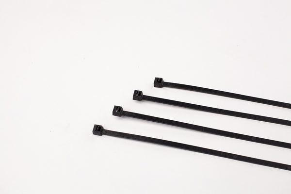 "11"" 50LB  Cable Ties - 11 Inch, 50 Pound  100 Bag  -  UV Black"