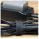 VELCRO® Brand BCT 12 Inch Cable Ties - 50 per Puck - Black - Zip Ties - YT12VCT
