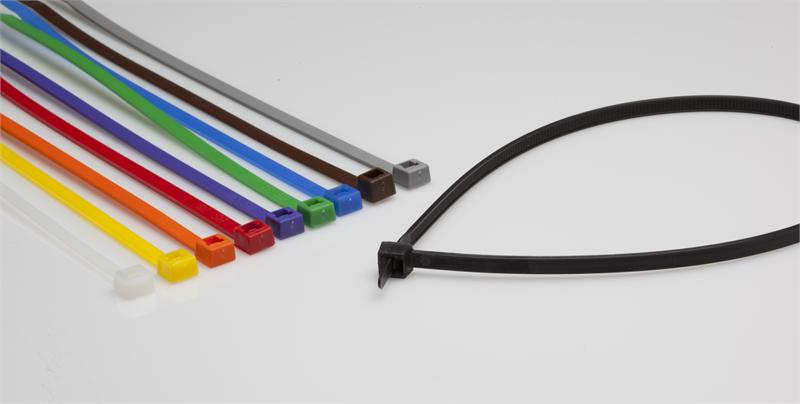 BCT 5 Inch 40 lb Cable Ties - Intermediate Duty Industrial/Home Use - Bag of 1000 - Multiple Color Options