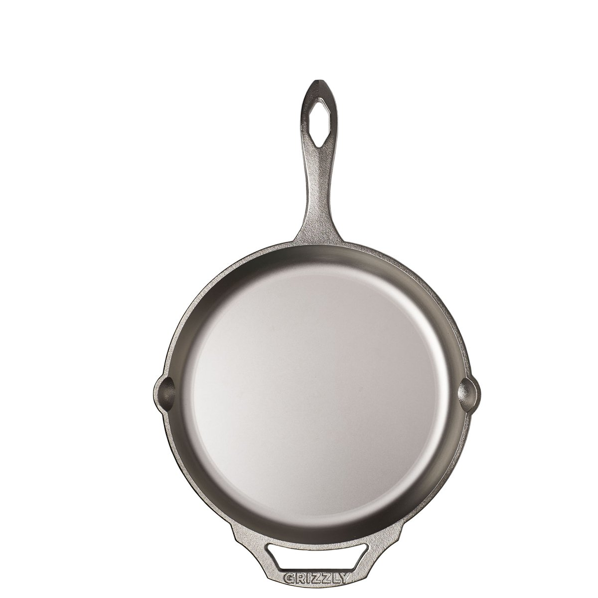 "GRIZZLY 10"" Cast Iron Skillet"
