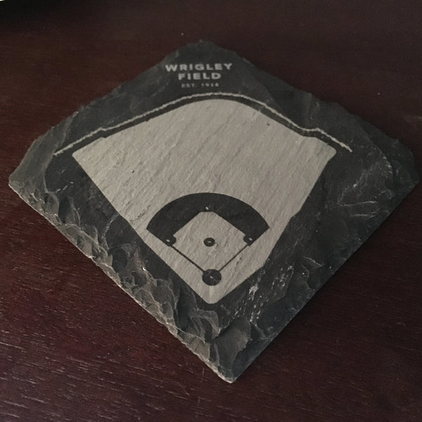 Diamond Slate Coaster Pack - Coasters by Stadium Graph - 3