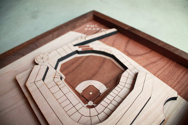 PNC Park - Ballpark Diamond by Stadium Graph - 4