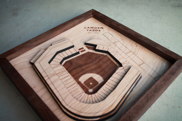Camden Yards - Ballpark Diamond by Stadium Graph - 4
