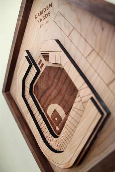 Camden Yards - Ballpark Diamond by Stadium Graph - 5