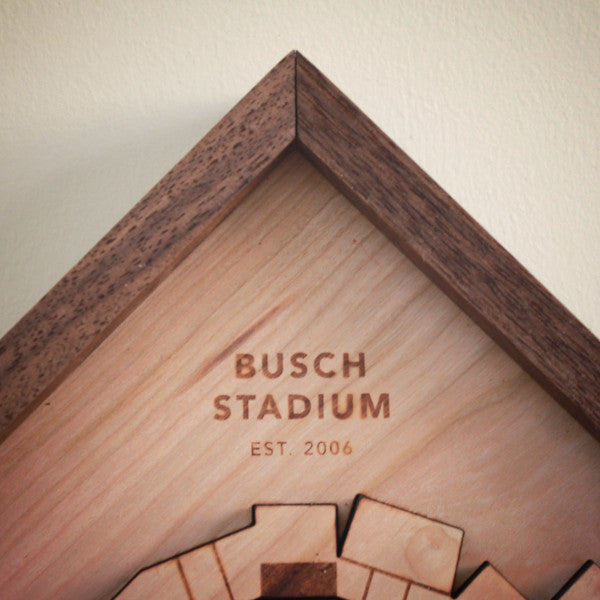 Busch Stadium - Ballpark Diamond by Stadium Graph - 2