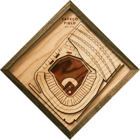 Safeco Field - Ballpark Diamond by Stadium Graph - 1