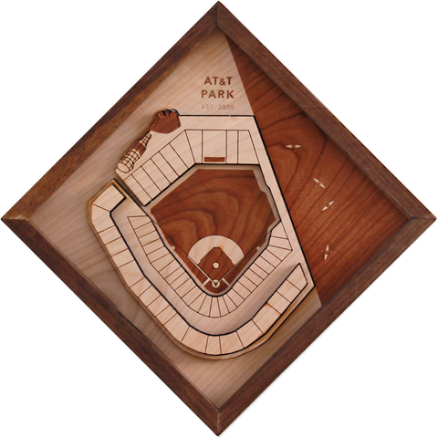 AT&T Park - Ballpark Diamond by Stadium Graph - 1