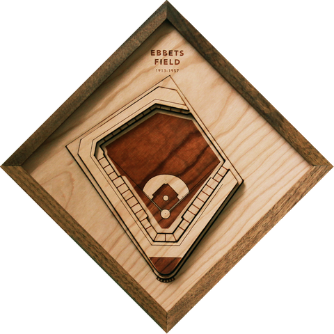 Ebbets Field - Ballpark Diamond by Stadium Graph - 1