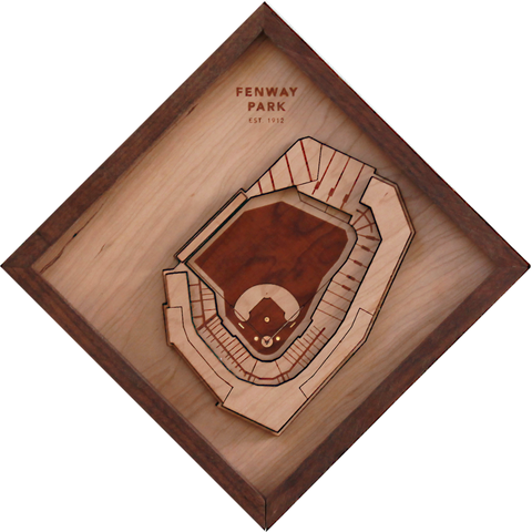 Fenway Park - Ballpark Diamond by Stadium Graph - 1