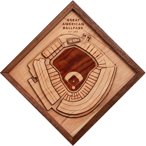 Great American Ballpark - Ballpark Diamond by Stadium Graph - 1