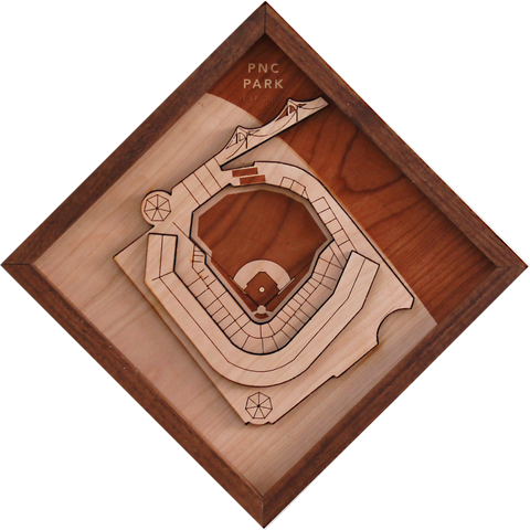 PNC Park - Ballpark Diamond by Stadium Graph - 1
