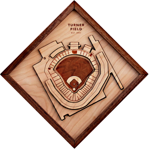 Turner Field - Ballpark Diamond by Stadium Graph - 1