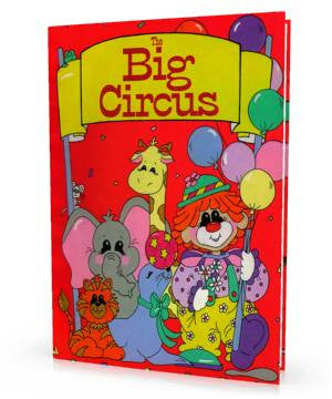 The Big Circus Personalized Children's Book
