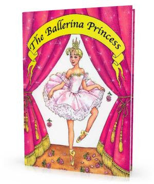 The Ballerina Princess Personalized Children's Book