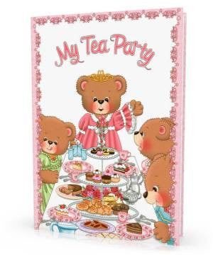 My Tea Party Personalized Children's Book