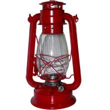 Decorative hurricane lantern 11 inches high
