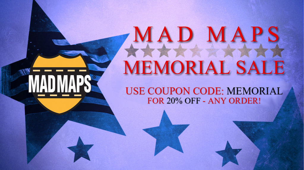 20% OFF ALL ORDERS! Memorial Day Sale Starts Now, Ends May 31st!