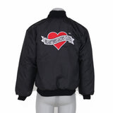 Heartbreakers Club Bomber Jacket - Black