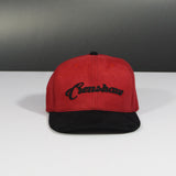Suede Crenshaw Original Cap - Red