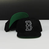 Full Suede Custom Boston Red Sox Cap