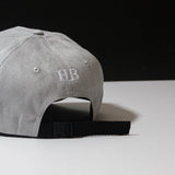 ROYAL Baseball Cap - Grey Suede