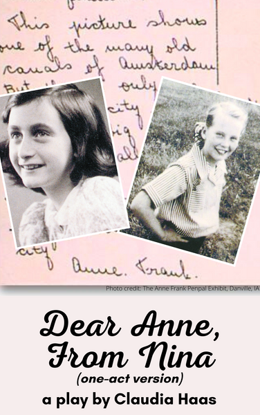 Dear Anne, From Nina (one-act version) - Stage Partners