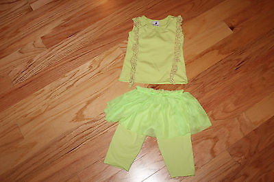 LAVENDER ALLEY Nordstrom's neon tutu outfit sz 12-24 mo