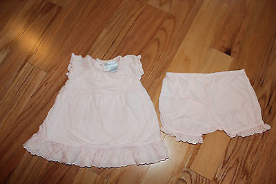 POLO RALPH LAUREN pink and lace set sz 3 months