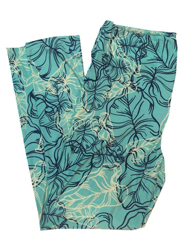 LULAROE tall and curvy - green leaf - NEW
