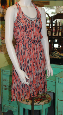 ELLA MOSS layered racerback silk dress sz XS - worn once - $120
