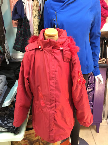 CARRAY Euro girl's red ski coat sz 10