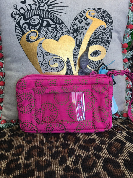 IOTA CHIC cell phone and id wristlet - NWT