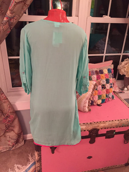 ALL FOR COLOR Swimsuit Cover Up sz S - NEW - $50