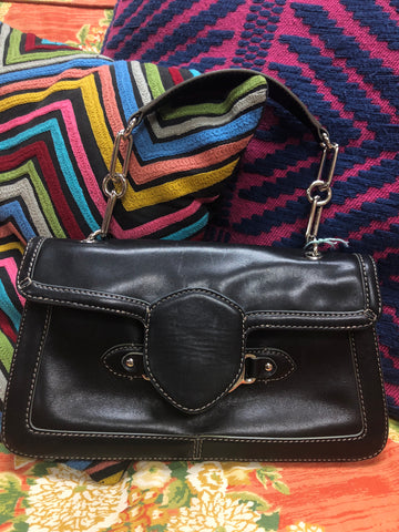 Cole Haan Black Clutch - $70